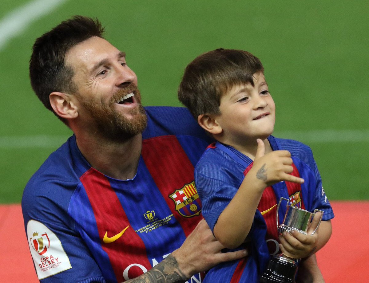 Certainly. Rather Lionel messi son that can