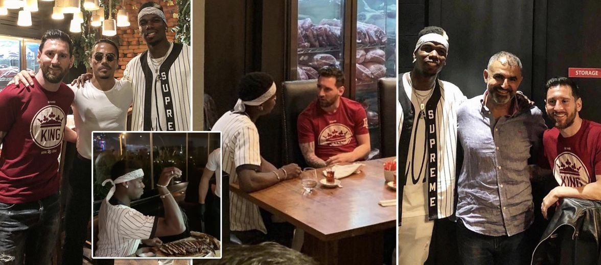 Image result for messi and pogba