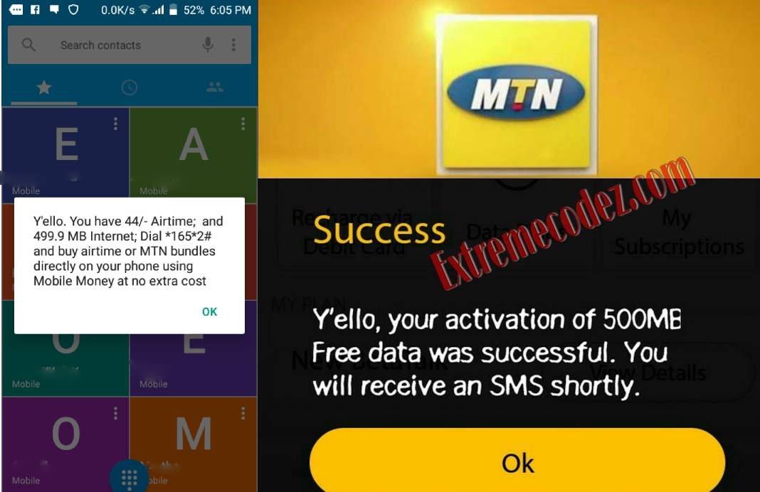 Have you received your free 500MB's from MTN,check how to