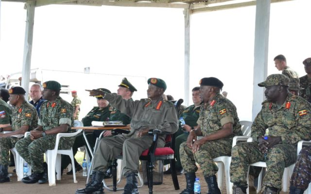 Museveni satisfied as he passes out new UPDF tank crews