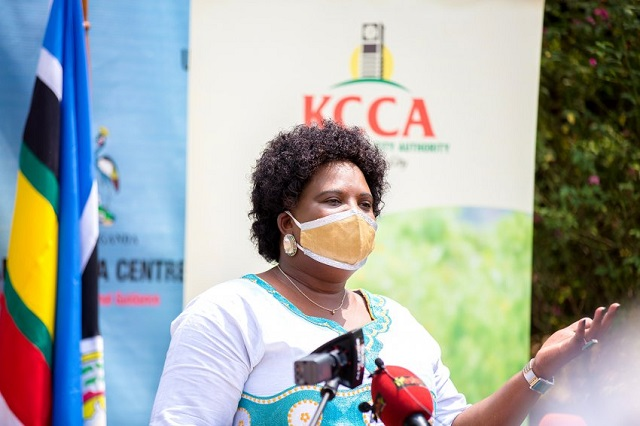 Minister for KCCA and Metropolitan Affairs, Betty Amongi