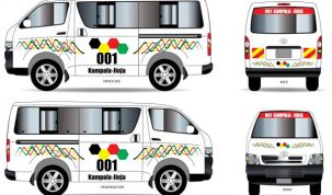 Kampala taxis to get new route designs and stickers