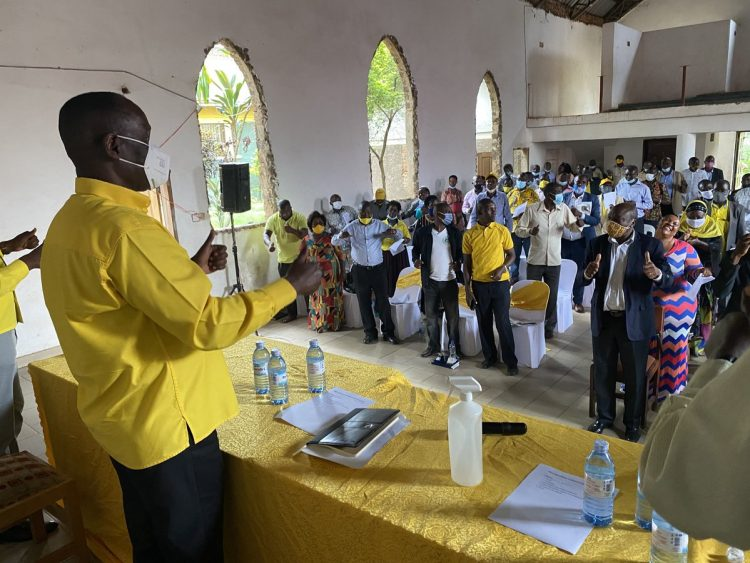Mukula responds to Bobi Wine: Meeting in Mbale observed all health protocolsMukula holds the meeting in Mbale City