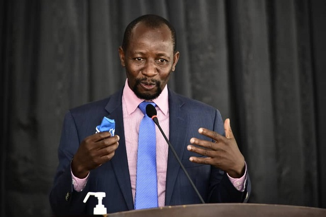FDC's Ibrahim Ssemujju has raised a matter of national importance about the bidding process of printing ballot papers for the 2020/21 elections.