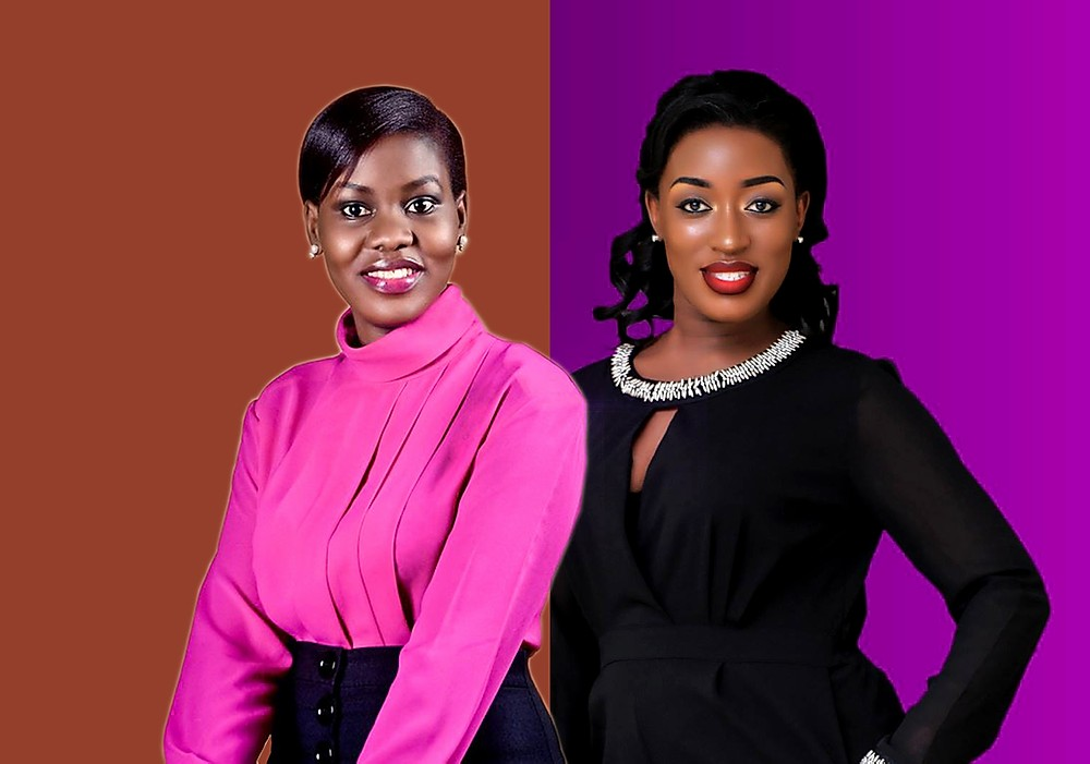 NTV news anchor Faridah Nakazibwe and Justine Nameere accuse each other of defamation (PHOTO/File)