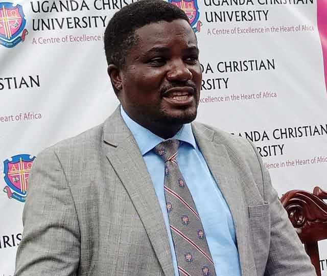 Rev.Dr John Kitayimbwa, the UCU Deputy Vice Chancellor in charge of academic affairs.