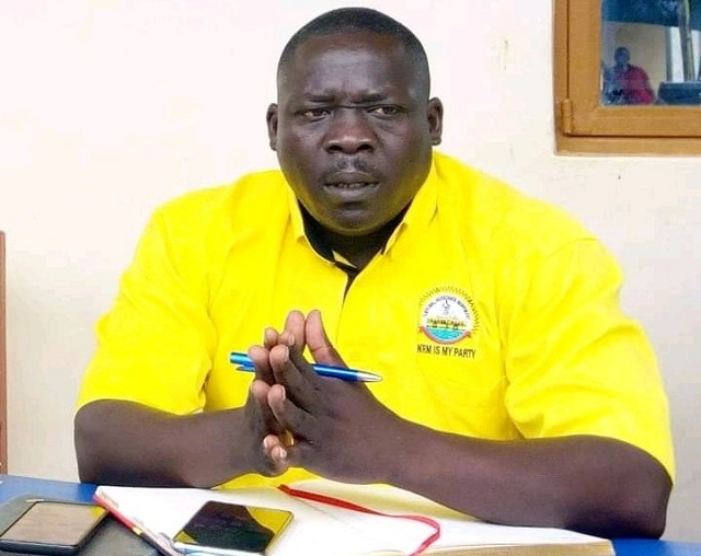 The MP for Ayivu County and NRM contestant for Ayivu West division in Arua city Bernard Atiku